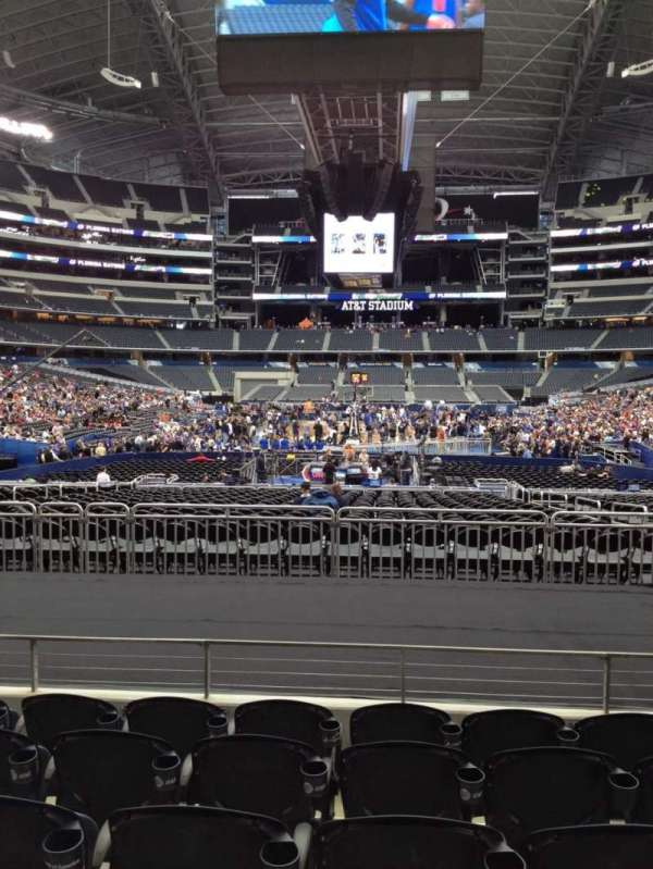 AT&T Stadium, section: 123, row: 13, seat: 7