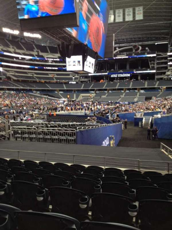 AT&T Stadium, section: 122, row: 17, seat: 3