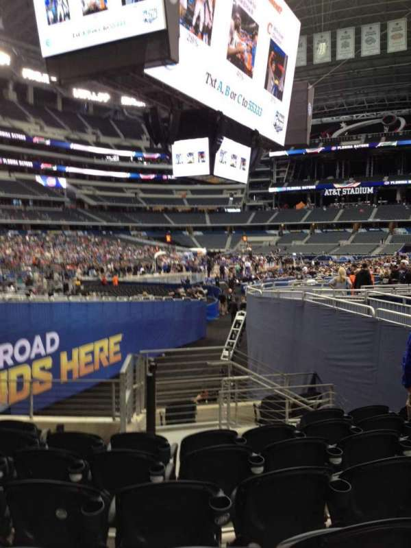 AT&T Stadium, section: 121, row: 15, seat: 10