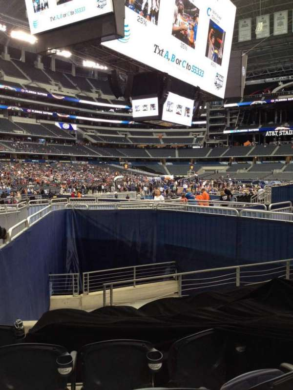 AT&T Stadium, section: 120, row: 10, seat: 9