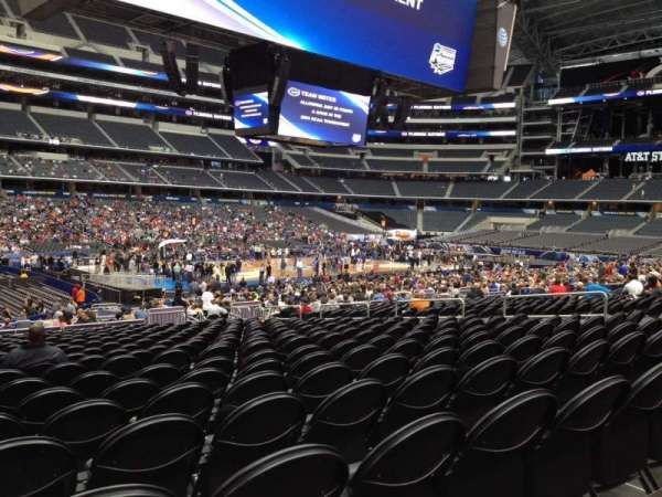 AT&T Stadium, section: C114, row: SS, seat: 17