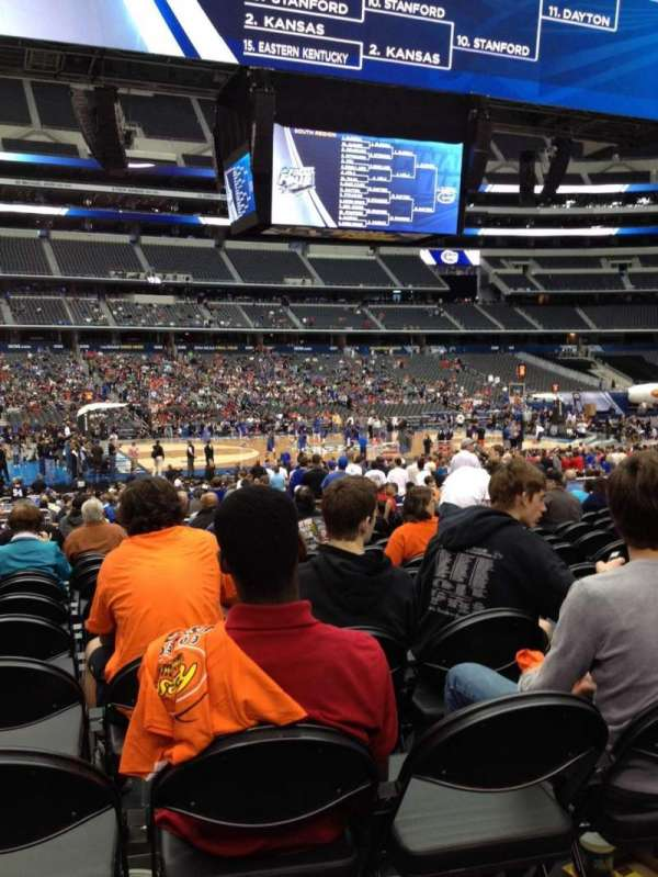 AT&T Stadium, section: C112, row: MM, seat: 18