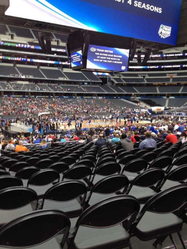 AT&T Stadium, section: C113, row: RR, seat: 21