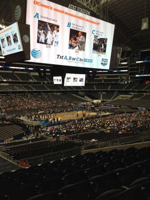 AT&T Stadium, section: 215, row: 10, seat: 12