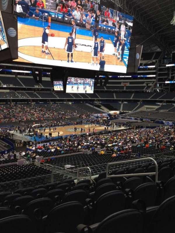 AT&T Stadium, section: C214, row: 9, seat: 6