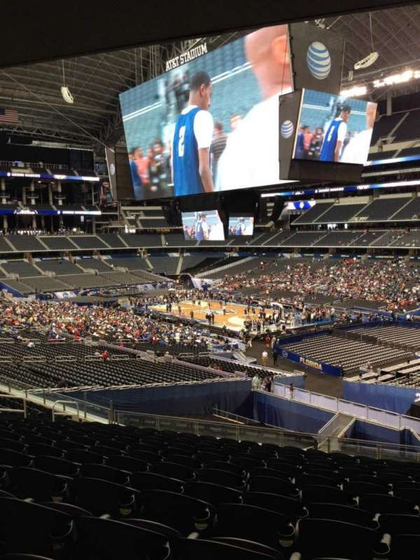 AT&T Stadium, section: 204, row: 9, seat: 13