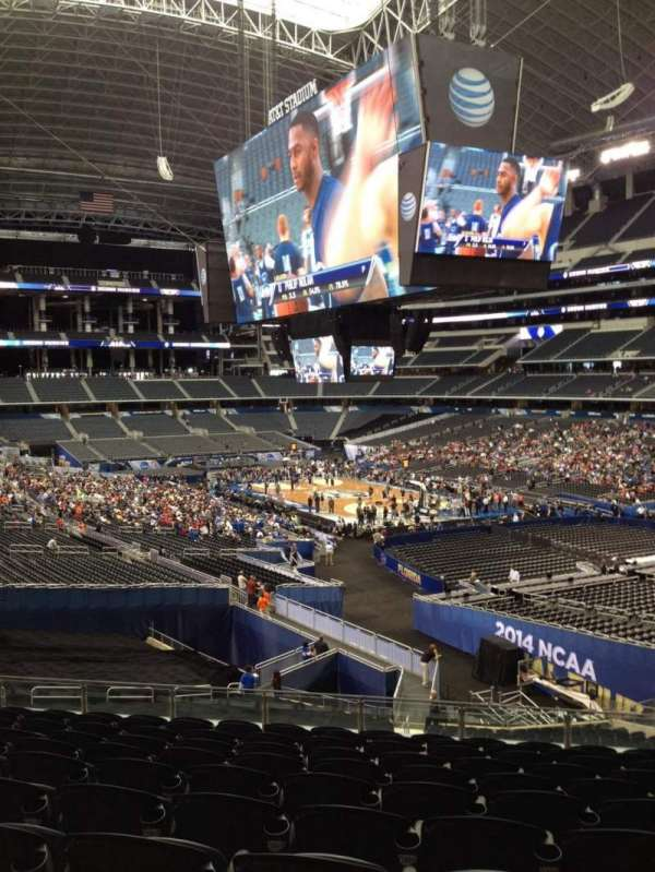 AT&T Stadium, section: 203, row: 15, seat: 10