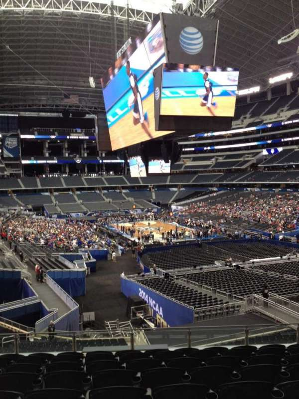 AT&T Stadium, section: 202, row: 11, seat: 10