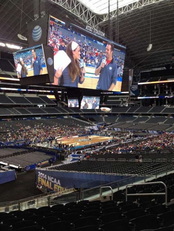AT&T Stadium, section: 240, row: 14, seat: 8