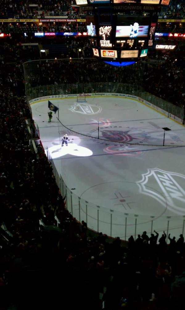Nationwide Arena, section: 226, row: D
