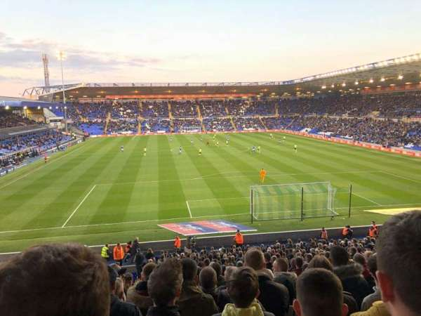 St Andrew's Stadium, section: GML5, row: 31, seat: 126