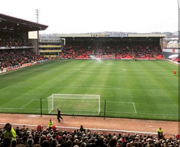 Oakwell Stadium, section: NS3, row: GG, seat: 69