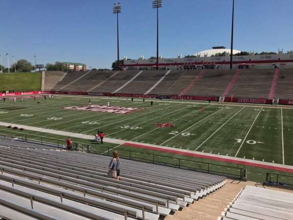 Cajun Field, section: C, row: 24, seat: 1