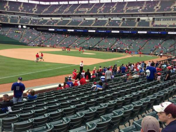 Globe Life Park in Arlington, section: 14, row: 12, seat: 18