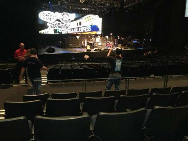 The Theatre at Grand Prairie, section: 205, row: Ee, seat: 23