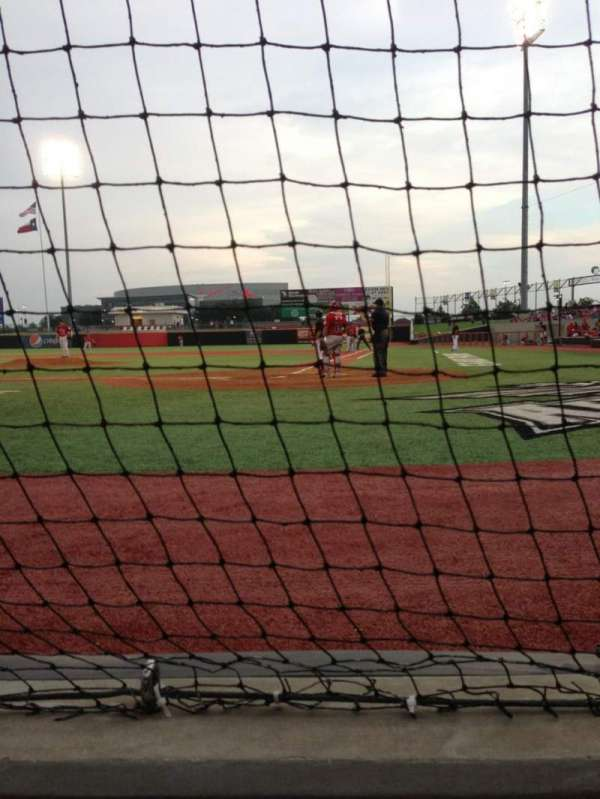 AirHogs Stadium, section: 111, row: 1, seat: 7