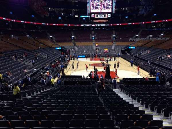 Scotiabank Arena, section: 114, row: 18, seat: 6