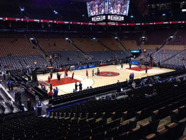 Scotiabank Arena, section: 110, row: 20, seat: 8