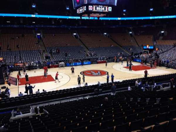 Scotiabank Arena, section: 109, row: 20, seat: 11