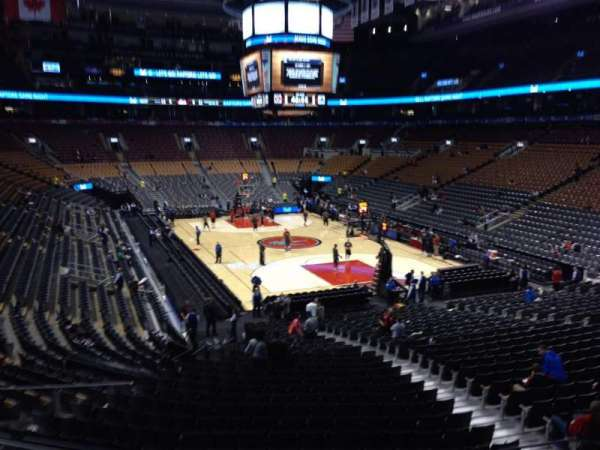 Scotiabank Arena, section: 104, row: 25, seat: 9