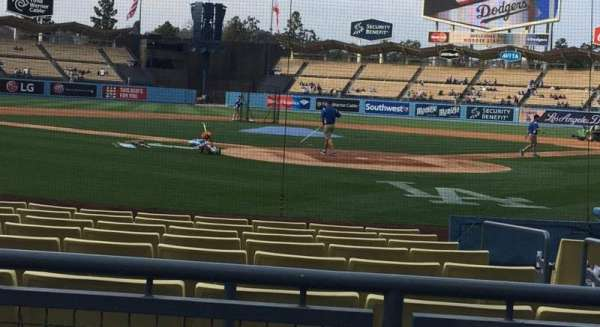Dodger Stadium, section: 3FD, row: A, seat: 1