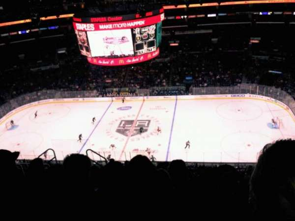 Staples Center, section: 317, row: 10, seat: 7