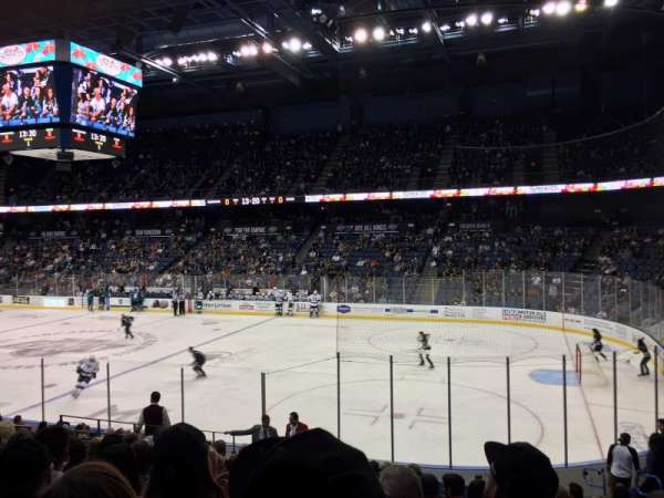 Citizens Business Bank Arena, section: 102, row: O, seat: 12