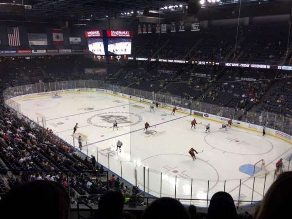 Citizens Business Bank Arena, section: 212, row: F, seat: 21