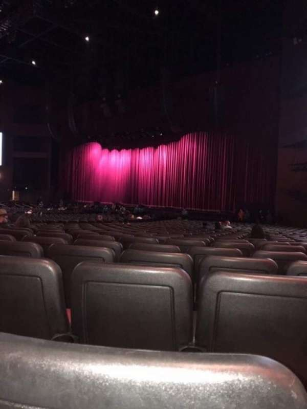 Microsoft Theater, section: Orchestra Right, row: HH, seat: 113