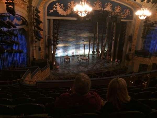 Gerald Schoenfeld Theatre, section: Mezzanine L, row: J, seat: 21