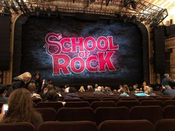 Winter Garden Theatre, section: ORCHC, row: O, seat: 114