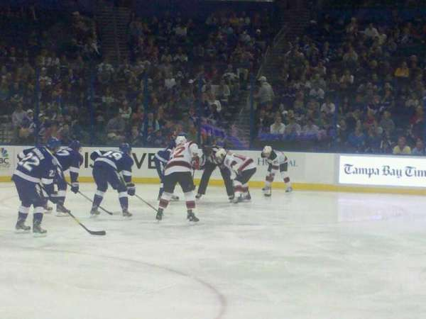 Amalie Arena, section: 117, row: D, seat: 15