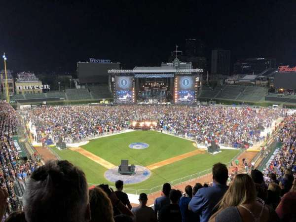 Wrigley Field, section: 318R, row: 8, seat: 14