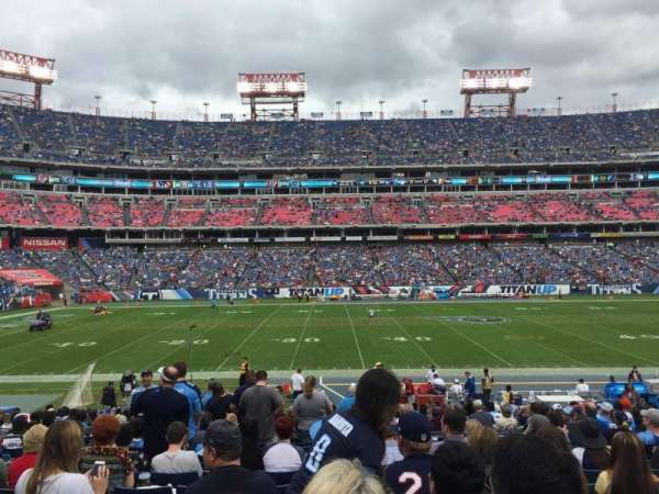 Nissan Stadium, section: 136, row: X, seat: 18