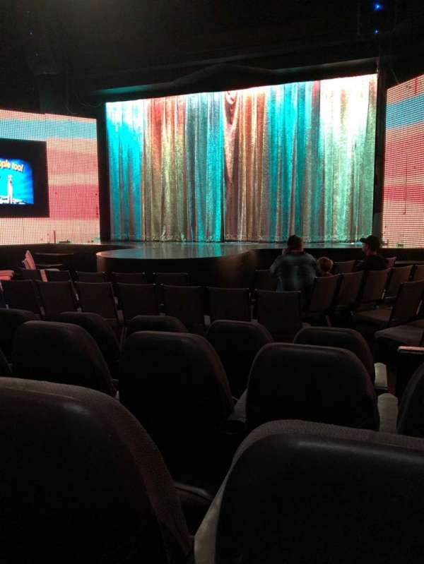 V Theater, section: Orchestra, row: D, seat: 101