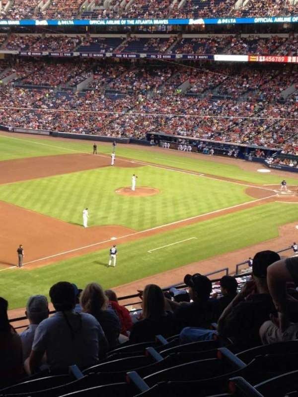 Turner Field, section: 318, row: 9, seat: 111