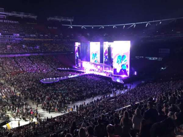 FedEx Field, section: 324, row: 12, seat: 18