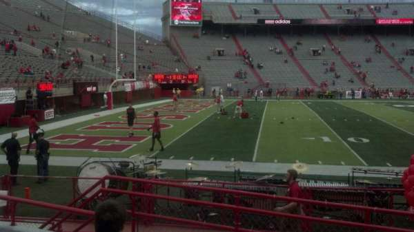 Memorial Stadium (Lincoln), section: 10, row: 7, seat: 6