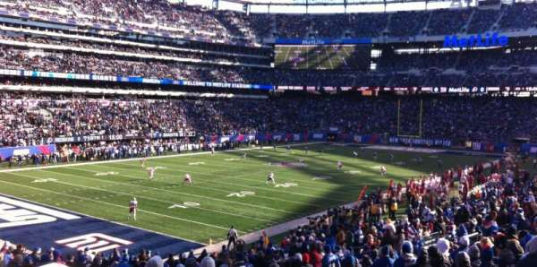 Metlife Stadium, section: 146, row: 30, seat: 8