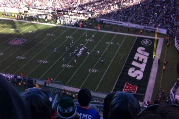Metlife Stadium, section: 334, row: 17, seat: 25