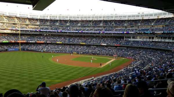 Yankee Stadium, section: 232A, row: 21, seat: 9