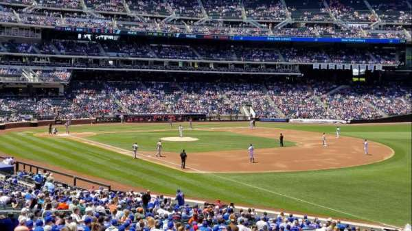 Citi Field, section: 108, row: 31, seat: 1