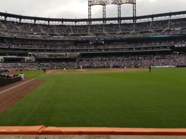 Citi Field, section: 103, row: 1, seat: 15