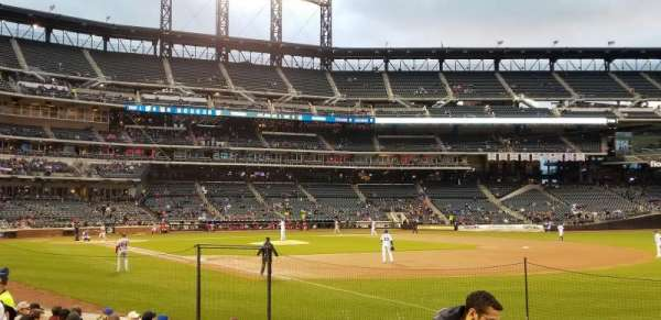 Citi Field, section: 109, row: 6, seat: 13