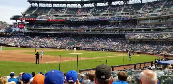 Citi Field, section: 125, row: 10, seat: 16