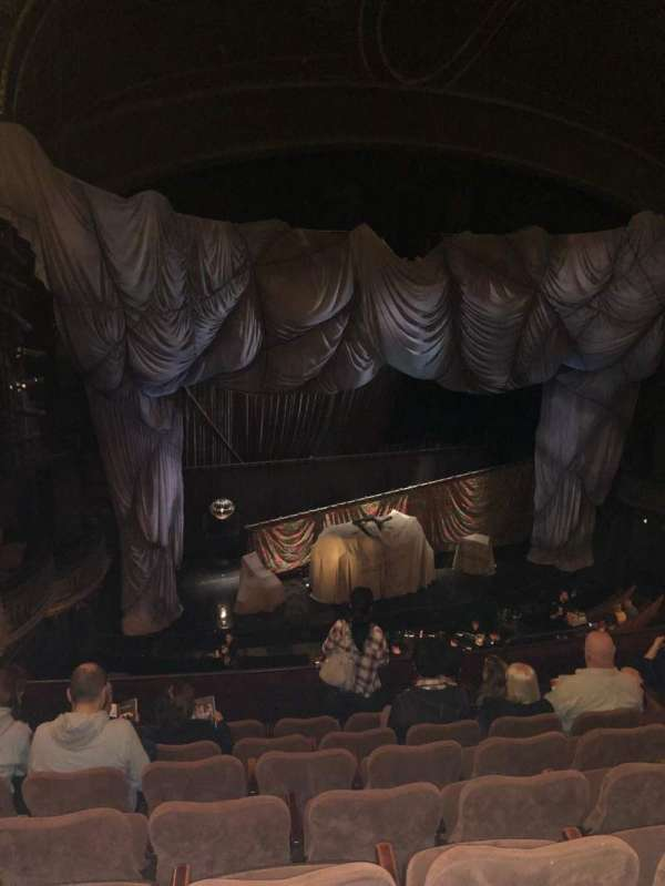 Majestic Theatre, section: Front Mezzanine L, row: G, seat: 13
