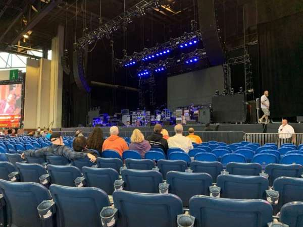 Coastal Credit Union Music Park at Walnut Creek, section: 1, row: Q, seat: 18