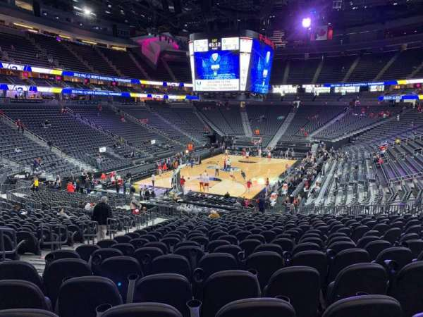 T-Mobile Arena, section: 2, row: W, seat: 5