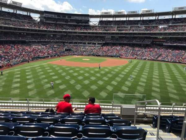 Nationals Park, section: 241, row: G, seat: 2