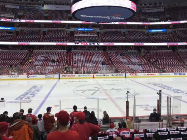 Capital One Arena, section: 100, row: M, seat: 3